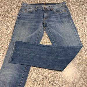 7 for all Mankind jeans Roxanne style size 28 GUC